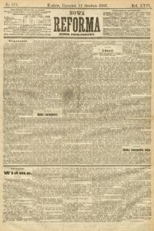 Nowa Reforma (numer popołudniowy). 1907, nr573