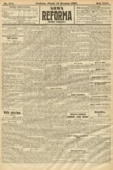 Nowa Reforma (numer poranny). 1907, nr574