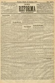Nowa Reforma (numer popołudniowy). 1907, nr575