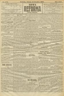 Nowa Reforma (numer poranny). 1907, nr576