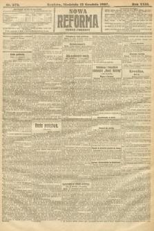 Nowa Reforma (numer poranny). 1907, nr578
