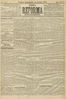 Nowa Reforma (numer popołudniowy). 1907, nr579