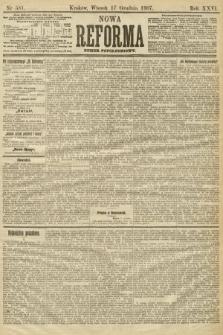 Nowa Reforma (numer popołudniowy). 1907, nr581