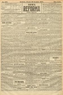 Nowa Reforma (numer poranny). 1907, nr586
