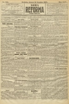 Nowa Reforma (numer poranny). 1907, nr588