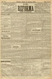 Nowa Reforma (numer popołudniowy). 1907, nr594