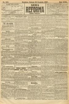 Nowa Reforma (numer poranny). 1907, nr595