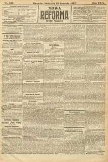 Nowa Reforma (numer poranny). 1907, nr597
