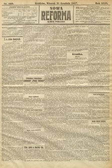 Nowa Reforma (numer poranny). 1907, nr599