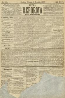 Nowa Reforma (numer popołudniowy). 1907, nr600