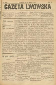 Gazeta Lwowska. 1902, nr208