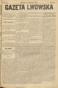 Gazeta Lwowska. 1902, nr211