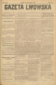 Gazeta Lwowska. 1902, nr215