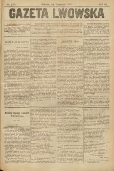 Gazeta Lwowska. 1902, nr216