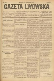 Gazeta Lwowska. 1902, nr218