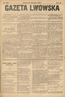 Gazeta Lwowska. 1902, nr222