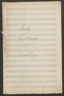 Sonate pour piano et violoncelle