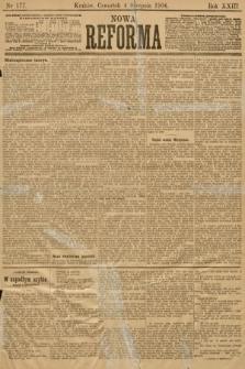 Nowa Reforma. 1904, nr177