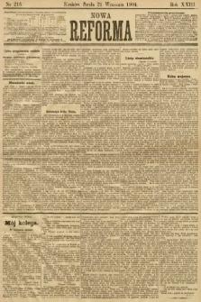 Nowa Reforma. 1904, nr216