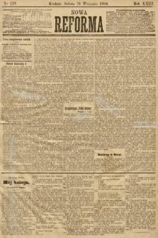 Nowa Reforma. 1904, nr219