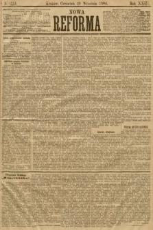 Nowa Reforma. 1904, nr223