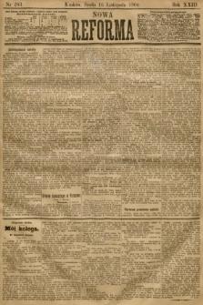 Nowa Reforma. 1904, nr263