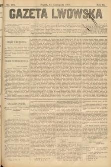Gazeta Lwowska. 1902, nr261