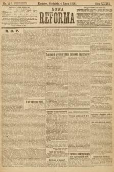 Nowa Reforma. 1920, nr157