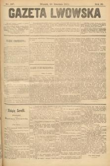 Gazeta Lwowska. 1902, nr287