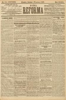 Nowa Reforma. 1920, nr210