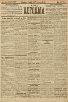 Nowa Reforma. 1920, nr227