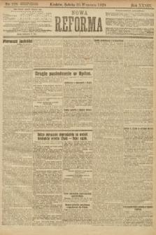 Nowa Reforma. 1920, nr228