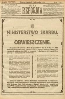 Nowa Reforma. 1920, nr234