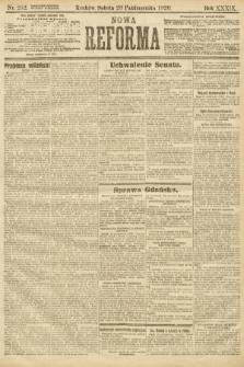 Nowa Reforma. 1920, nr252