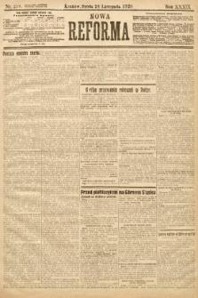 Nowa Reforma. 1920, nr279