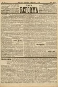 Nowa Reforma. 1906, nr275