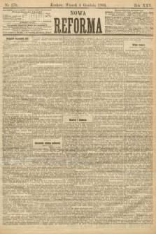 Nowa Reforma. 1906, nr276