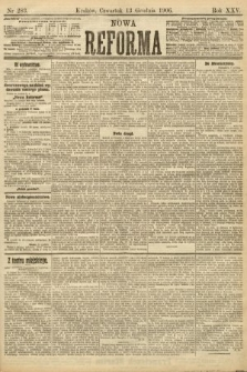 Nowa Reforma. 1906, nr283