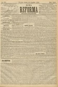 Nowa Reforma (wydanie popołudniowe). 1906, nr289