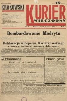 Krakowski Kurier Wieczorny. 1937, nr1