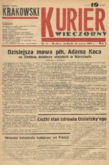 Krakowski Kurier Wieczorny. 1937, nr3