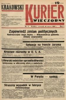 Krakowski Kurier Wieczorny. 1937, nr7