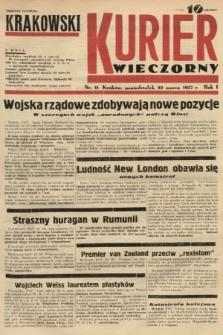 Krakowski Kurier Wieczorny. 1937, nr11