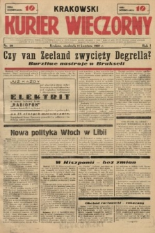 Krakowski Kurier Wieczorny. 1937, nr29