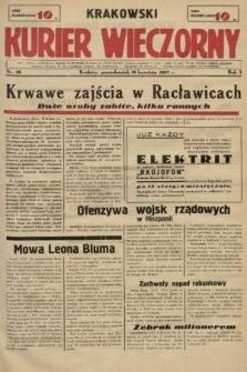 Krakowski Kurier Wieczorny. 1937, nr36