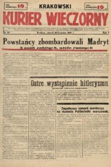Krakowski Kurier Wieczorny. 1937, nr37