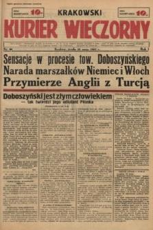 Krakowski Kurier Wieczorny. 1937, nr61