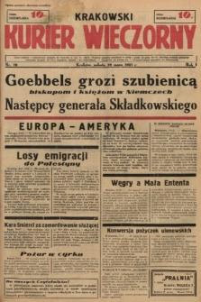 Krakowski Kurier Wieczorny. 1937, nr70