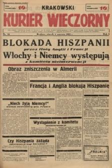 Krakowski Kurier Wieczorny. 1937, nr72