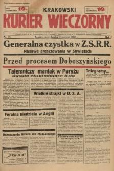 Krakowski Kurier Wieczorny. 1937, nr78